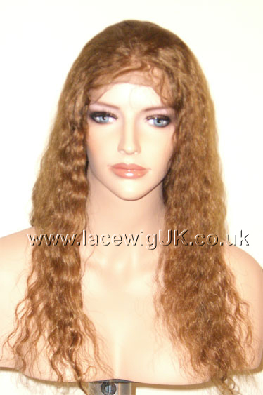 Deep Wave 16inch Color 30 Full Lace Wig
